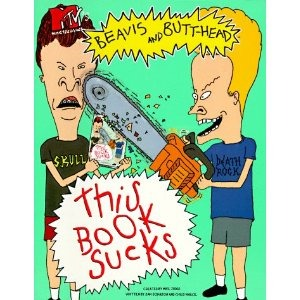 beavis and butthead this book sucks