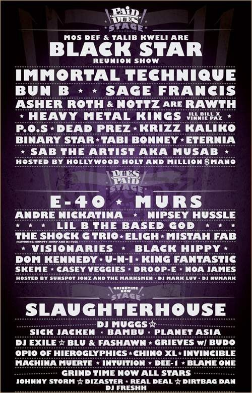 Paid Dues 2011