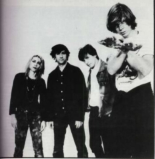 Sonic youth black and white