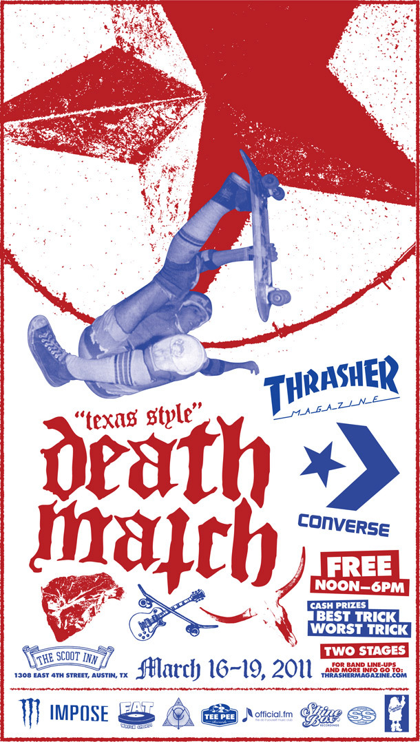 Impose SxSW Day Show Thrasher Converse Death Match