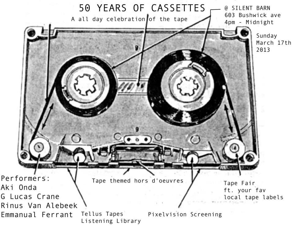 50 years of tapes