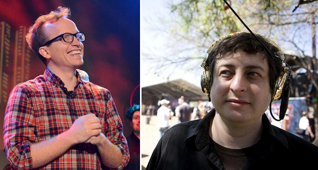 Chris Gethard and Eugene Mirman