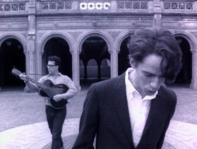 """They Might Be Giants, once upon a time. John Linnell (right), and John Flansburgh. <a href=""""http://www.totallyfuzzy.net/ourtube/artist/They+Might+Be+Giants/+images/page-2/"""">Via</a>."""