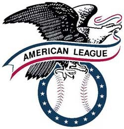 American League baseball logo