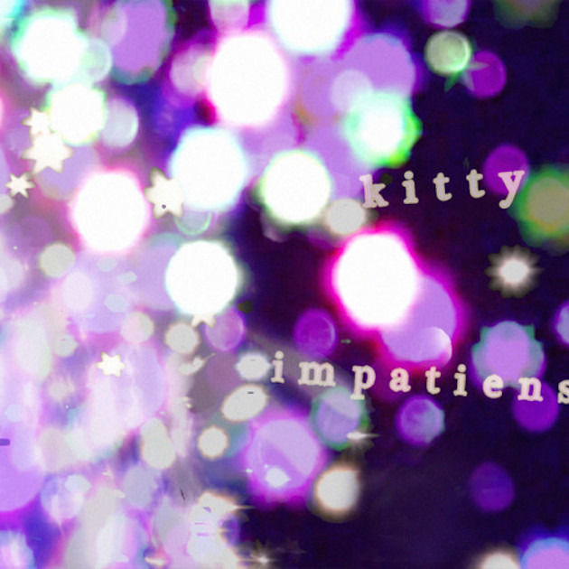 purple glitter sparkly impatiens EP cover by kitty