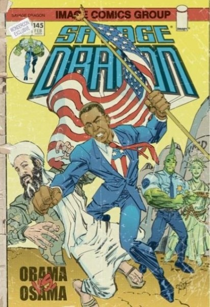 osama vs obama comic book