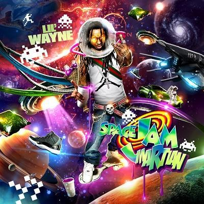 Cover for Lil Wayne's Space Jam Martian Mixtape