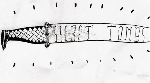 secret tombs knife drawing
