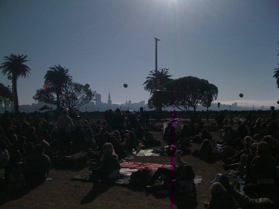 San Francisco's Bay's Treasure Island Music Festival
