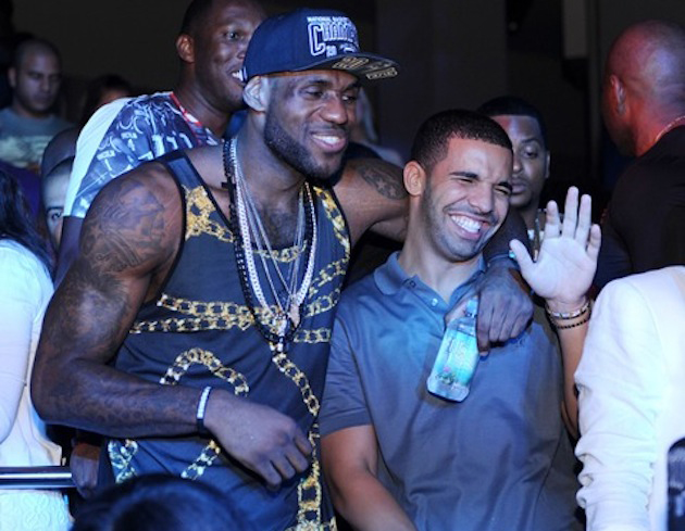 Lebron James and Drake