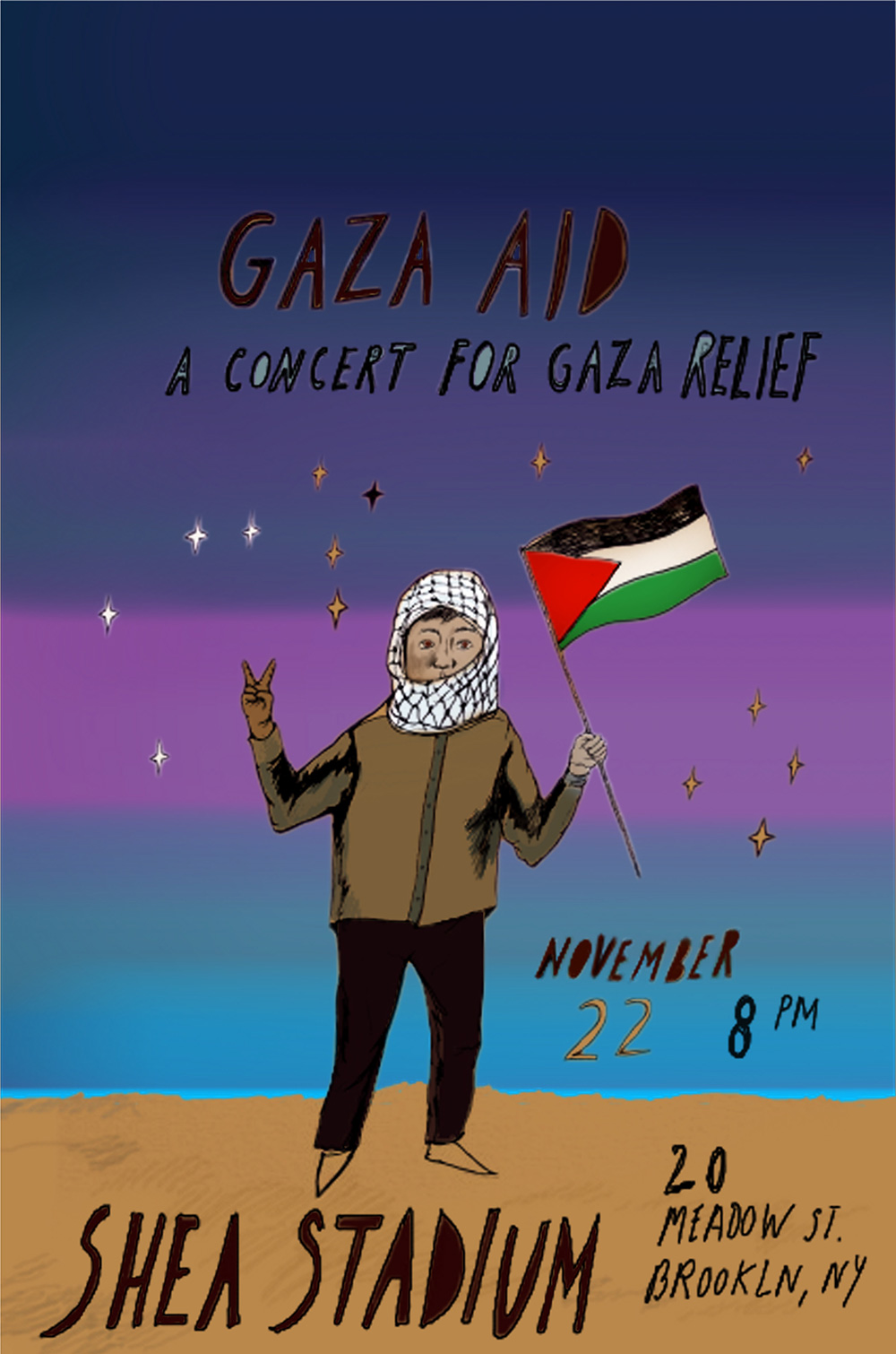 Gaza Reliefe benefit show