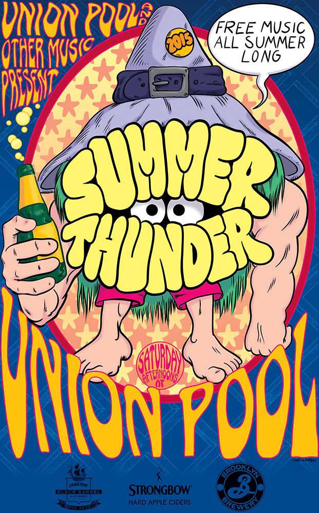 Union Pool summer thunder