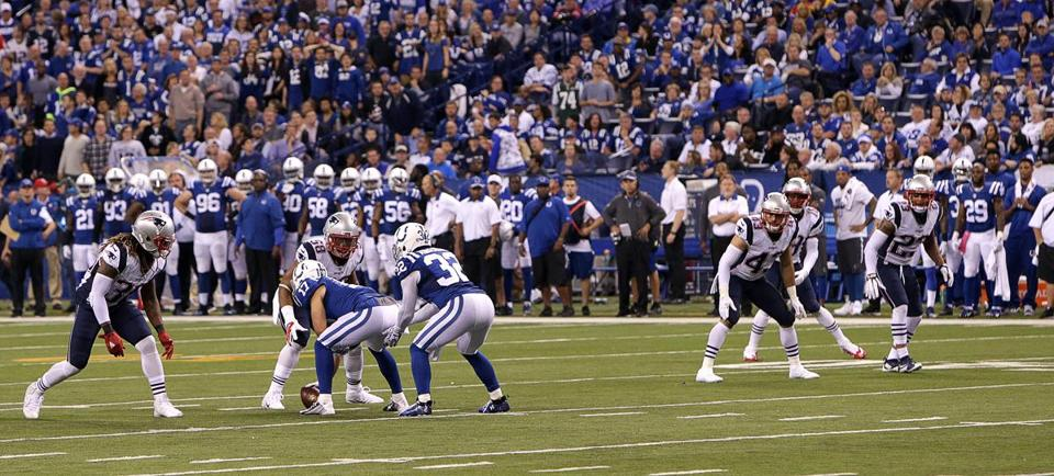 Colts fake punt play