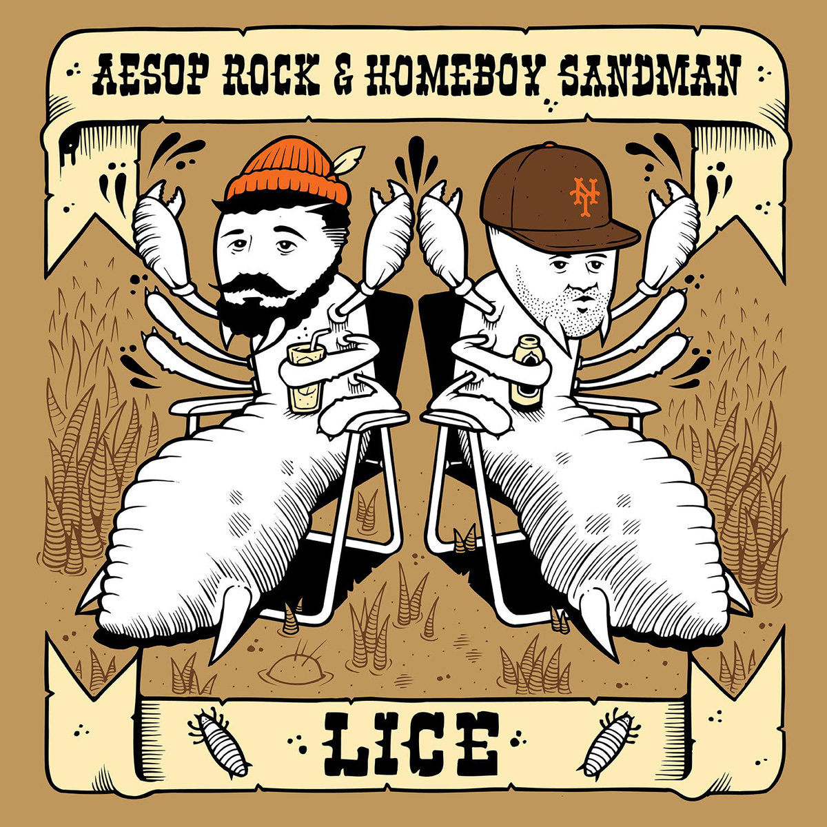 Lice Aesop Rock and Homeboy Sandman