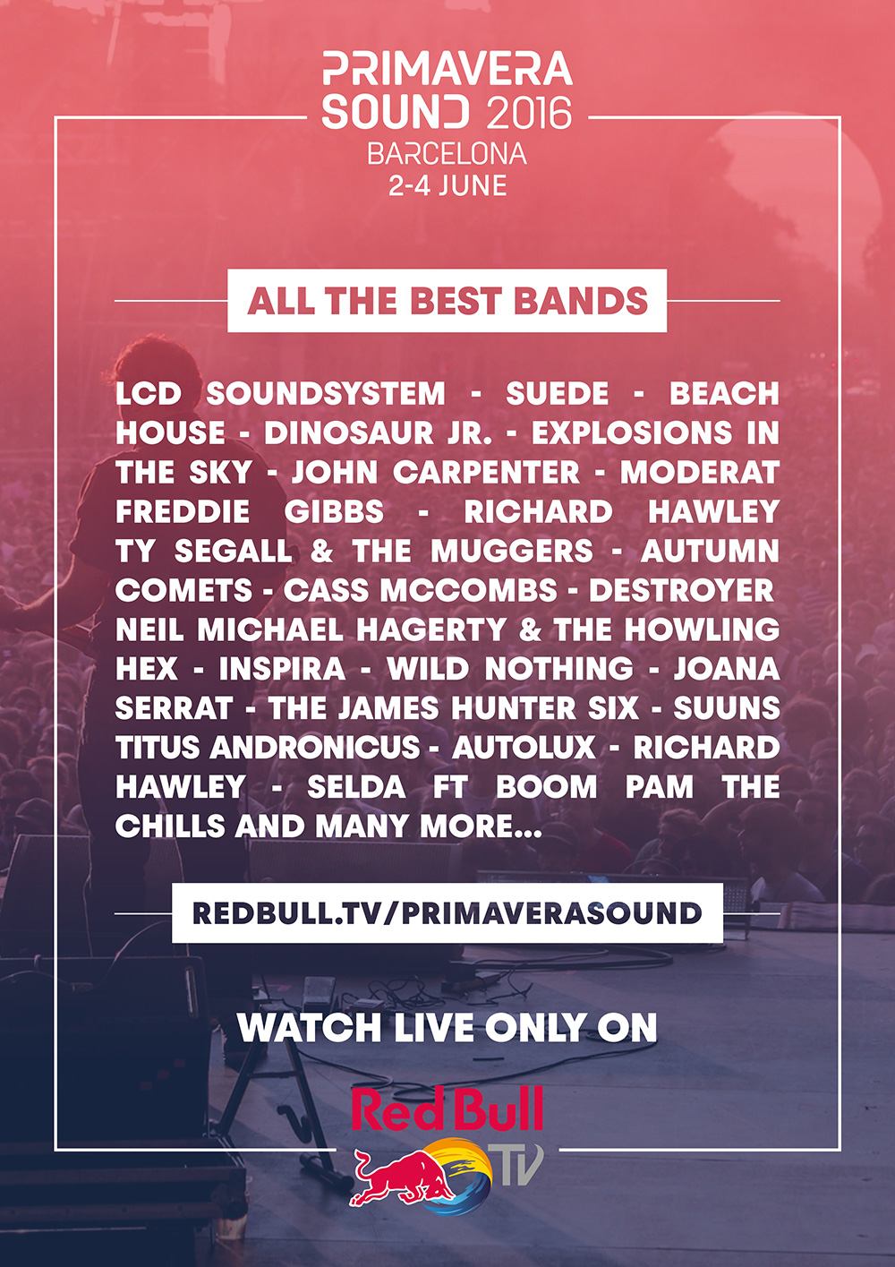 Primavera Sound on red bull tv