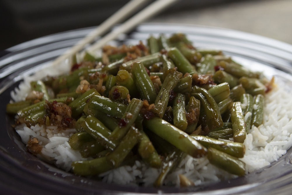 Recipe: Spicy Sichuan Green Beans from P. Allen Smith