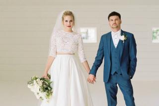 Victoria + Jacob's Gorgeous Grandeur House Wedding