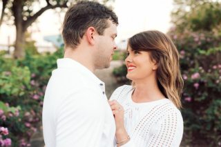 Katie + Justin's Puppy-filled Engagement Sesh