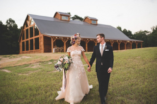 Lavender and Honey-Themed Shoot at The Venue at Stonebrook Meadows