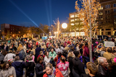 Downtown Gets Spruced with Annual Tree Lighting Ceremony