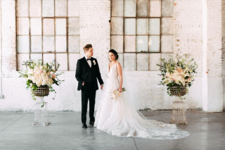 Intimate + Earthy Styled Shoot at the Brick Ballroom