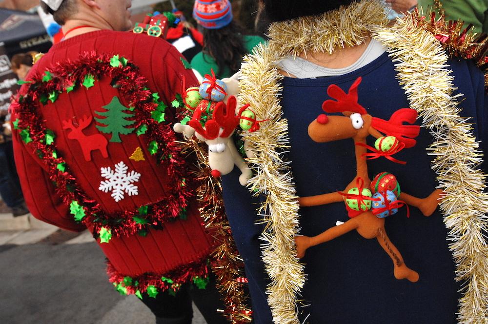 Ugly Christmas sweater, holidays