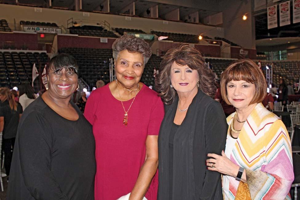 Thelma Taylor, Annette Fisher, Van Compton, Sheila Castin
