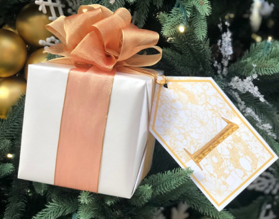 Giveaways for Days at B.Barnett's Countdown to Christmas