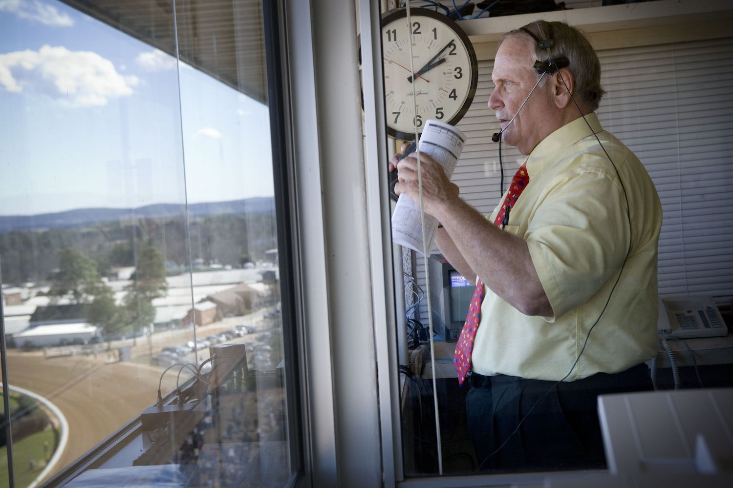 'Voice of Oaklawn' Terry Wallace Dead at 74