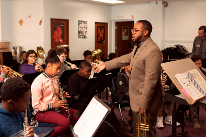 Amazing Educators: Jose Holloway Pushes Kids to Excel Through Music
