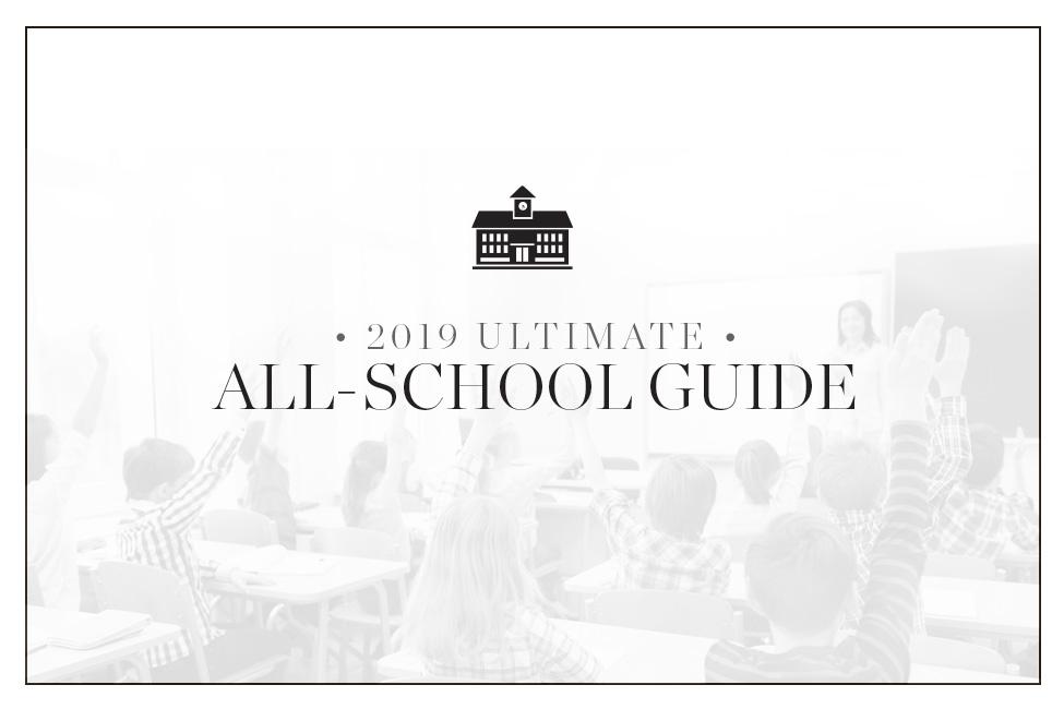 Soirée's 2019 Ultimate All-School Guide