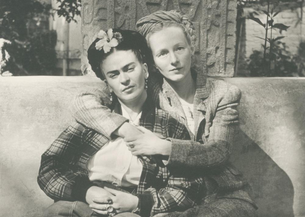Frida Kahlo and Emmy Lou Packard, Arkansas Arts Center, Photographing Frida