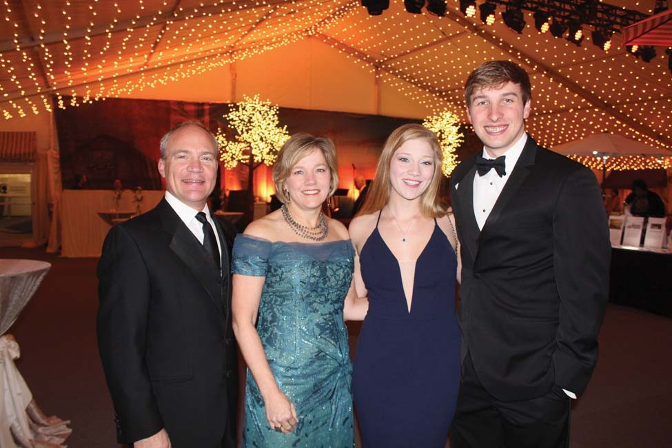 Mark and Marcy Doderer, Emily Doderer, Zach Reiners