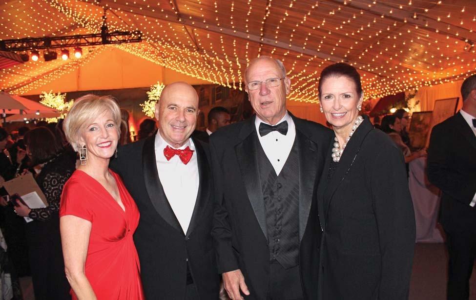 Vicki and Mark Saviers, Johnny and Sharon Bale