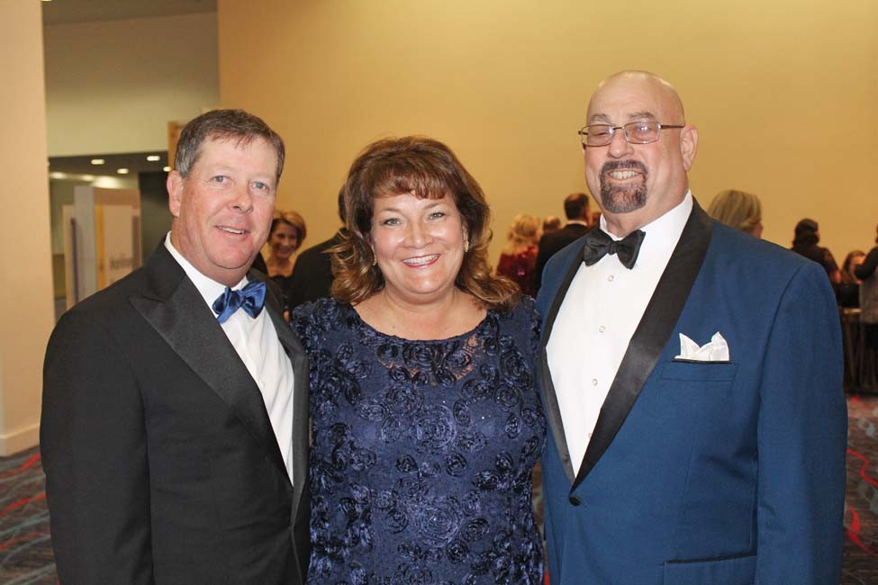 Glen and Jennifer Day, Neal Gladner