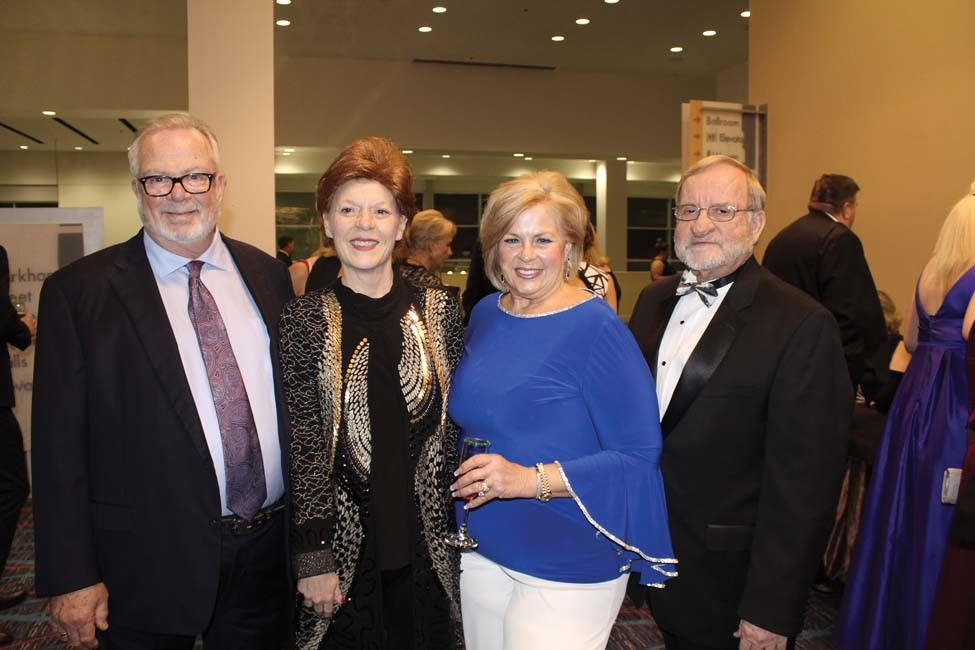 John and Kim Cook, Pam and John Cox