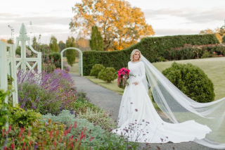 Suzie's Incredible Bridal Sesh + Bespoke Pantsuit