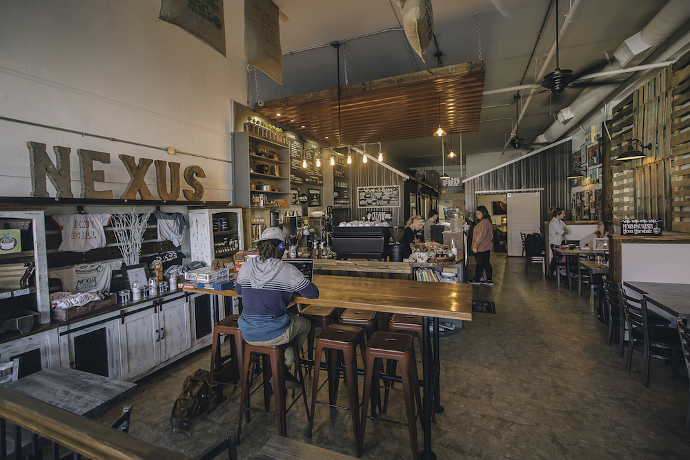 Nexus Coffee and Creative, River Market, downtown Little Rock
