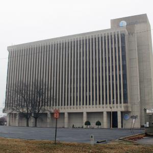 AT&T Building Awaits VA Hospital Redevelopment