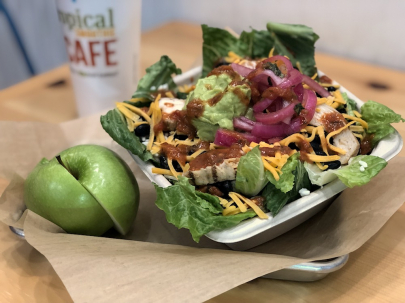 Recipe: Baja Chicken Bowl from Tropical Smoothie Cafe