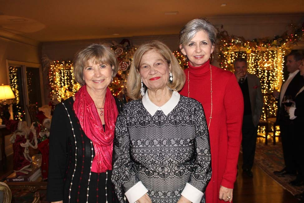 Dr. Jean McSweeney, Beverly May, Joyce Taylor
