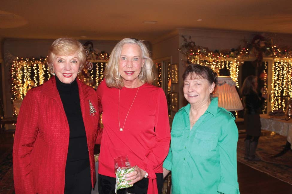 Helen Buchanan, Holly Patterson, Margie Stone