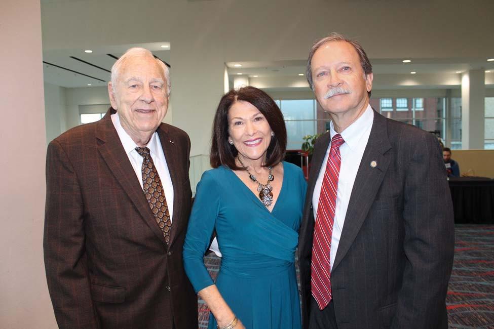 Jack Holt, Susan and Dan Kemp