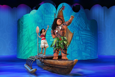 See Moana, Rapunzel, Belle, Others in 'Disney On Ice' Show