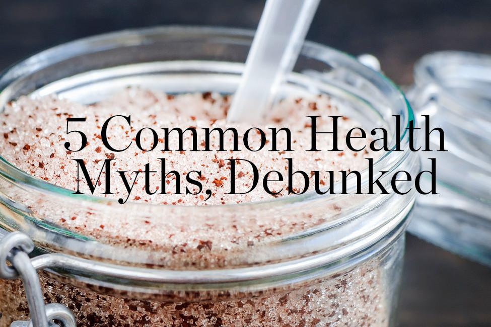 Soiree February 2019 Common Health Myths