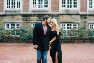 Lindsey + John Bryant's Gorgeous Conway Engagement Sesh