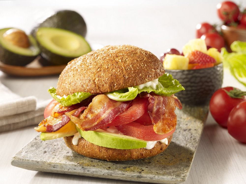 Movie Tavern BLTA Sandwich