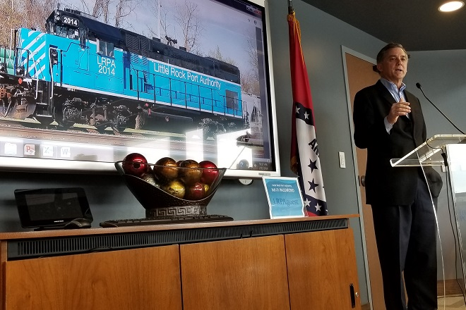 French Hill, Little Rock Port Mark First Part of $10.5M Expansion
