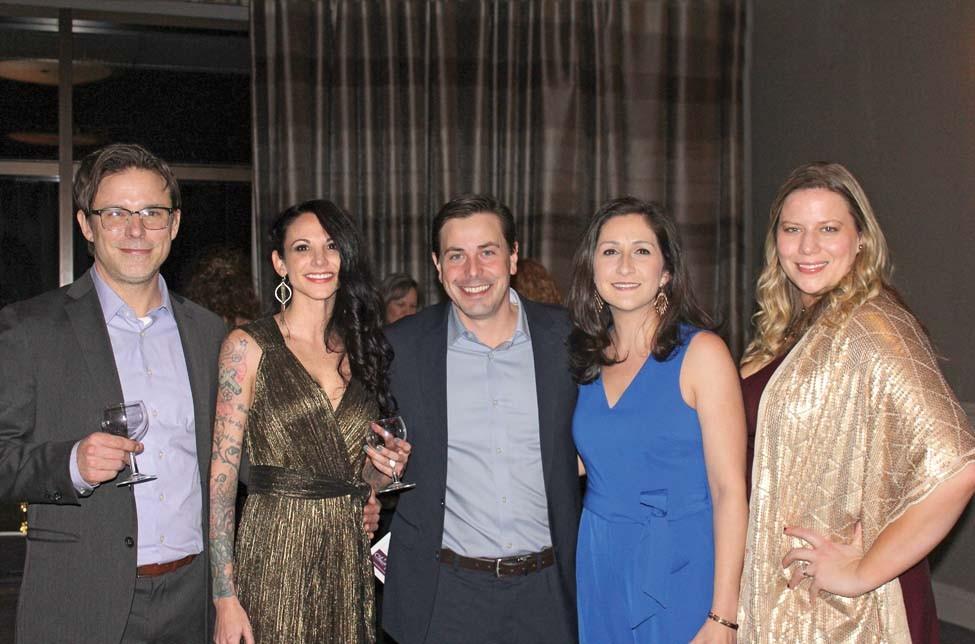 Matt Simmons, Jennifer Hollis, Statler and Jennie Strange, Dana Herman