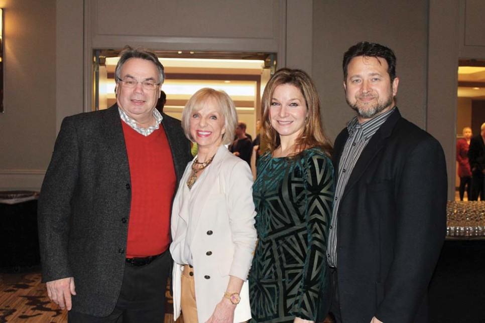 Bob and Betty Harrison, Dr. Alexandra and Dr. Roman Ratycz